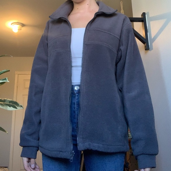 Columbia fleece zip up